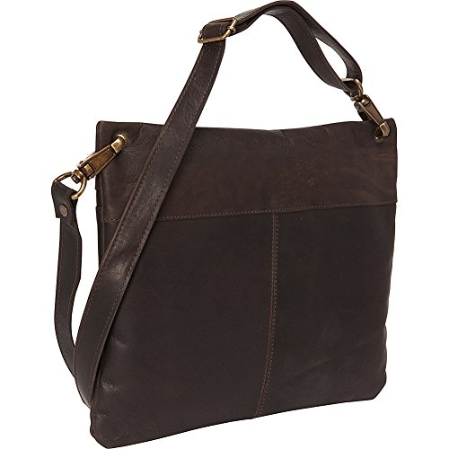 Sharo Dark Leather Body Brown Bags Bag Cross Dark Brown Women's SqawgxqU