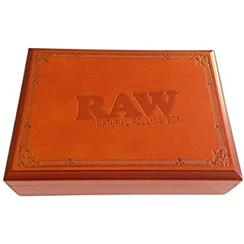 Raw Rolling Wood Box Magnetically Sealed 9