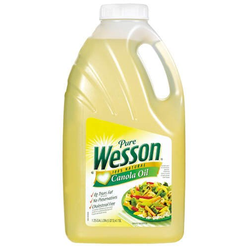 Wesson Pure Canola Oil , 1.25 Gallon