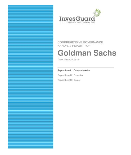 goldman-sachs-comprehensive-corporate-governance-report