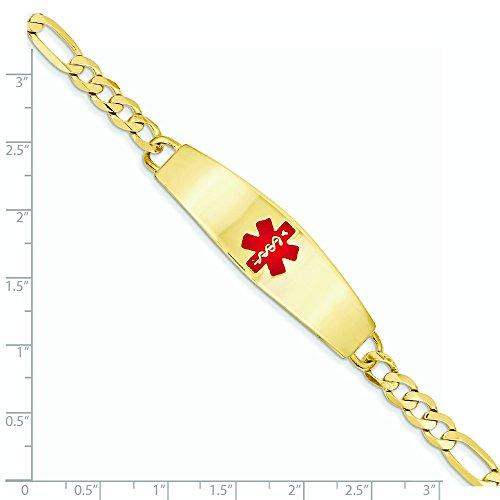 """14 carats Medical Jewelry Bracelet - 8 """"- JewelryWeb"""