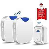 [Newest 2019] Wireless Doorbell, Agedate Waterproof Door...