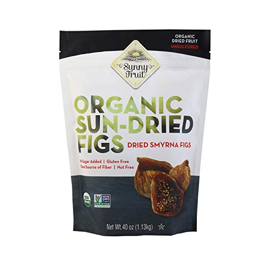 (ORGANIC FIGS USDA ORGANIC SUNNY FRUIT 40 OUNCE BAG)