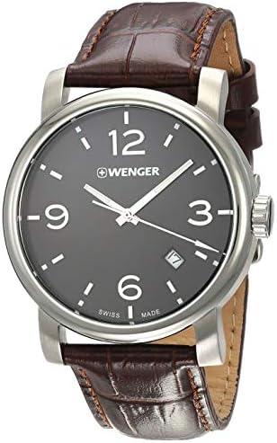 Wenger Urban Metropolitan Quartz Movement Black Dial Men s Watch 11041128