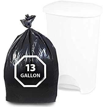 Amazon Com Dualplex Tall Kitchen Trash Bags 13 Gallon 200