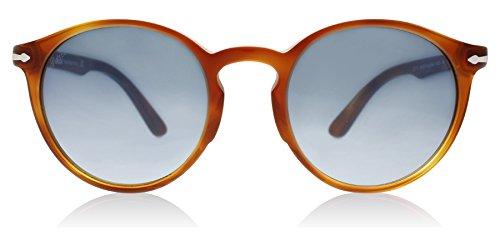 Persol PO3171S 96/Q8 Terra Di Siena PO3171S Round Sunglasses Lens Category 3 Si (Persol Sunglasses Round)