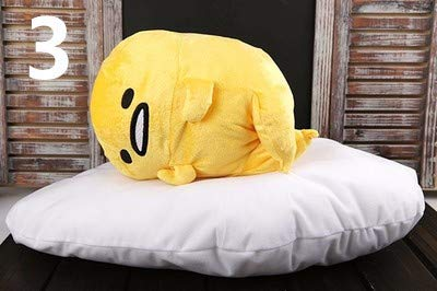 ILUTOY Anime Lazy Egg Plush Toys Cushion Pillow Cotton Soft Stuffed Doll Figure Cute Must Have Tools Gift Wrap Girls Favourite Characters Superhero Party Supplies Unboxing Toys by ILUTOY