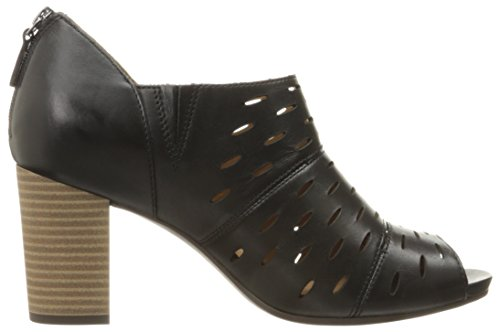 CLARKS Women's Banoy Takala Dress Sandal Black Leather exclusive EawtXZN