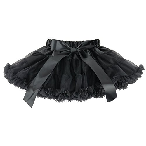 (Wennikids Little Girl's Dance Chiffon Pettiskirts Tutu Assorted Size and Color Small)
