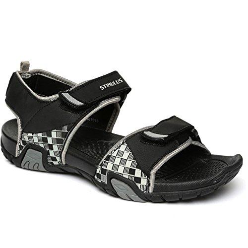 PARAGON Men's Grey Sandals-8 UK/India (42 EU) (FB9065G)