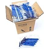 40 Box of Disposable Razor Blades | Hospitality Quality Disposable Razor Blades | High End Twin Blade Razors for Men and Women - 40 Bulk Razors for Tattoo Hotel Medspa Fitness & Golf | Dual Blades