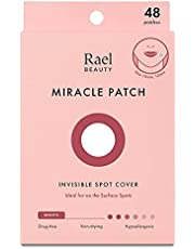 Rael Acne Pimple Healing Patch - Absorbing Cover, Invisible, Blemish Spot, Hydrocolloid, Skin Treatment, Facial Stickers, Two Sizes, Blends in with skin (48 Patches)