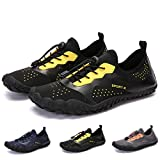 Bridawn Hiking Shoes Unisex Quick Dry Barefoot Water Upstream Shoes, Lightweight Aqua Sports Shoes for Men Women