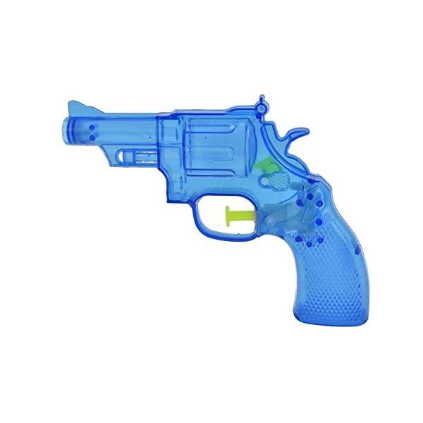 KandyToys-Pistola ad Acqua Trasparente Neon 3 Asst Cols Hydrostorm, TY2310 2 spesavip