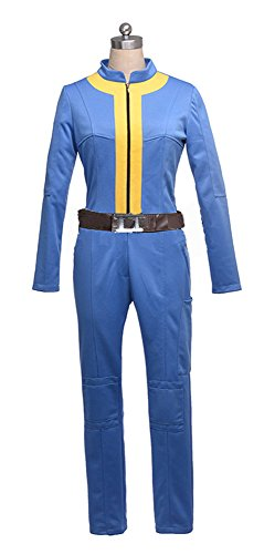 Fallout Cosplay Costume (Mtxc Men's Fallout 3 Cosplay Costume The Wanderer Full Set Size X-large Blue)