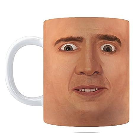 Amazon.com: Taza de café terrorífica con la ...