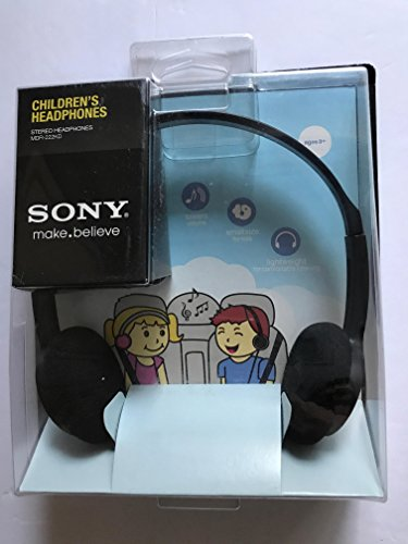 SONY Childrens Headphones - MDR-222KD (Black) by Sony
