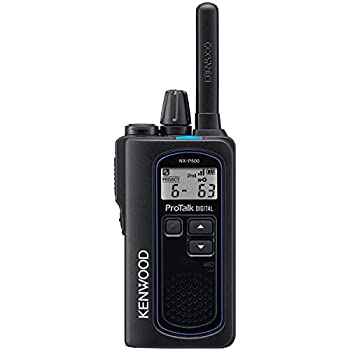 Image of Kenwood ProTalk Digital NX-P500 UHF 2-Way Business Radio