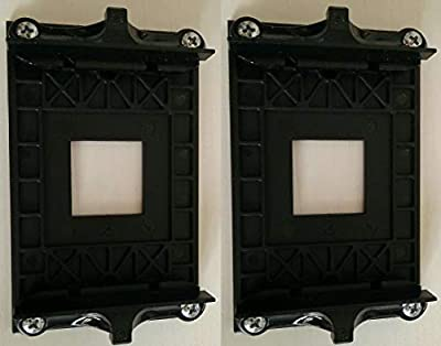 2 Sets of AMD CPU Fan Bracket Base for B350 B470 X370 X470 soket 3 pcs Version 90x54mm Mounting (with 4 Screws)