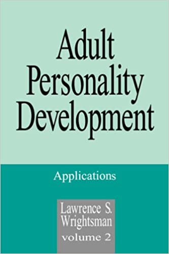 Book Adult Personality Development: Applications (Volume 2): Applications v. 2 (Haymarket)