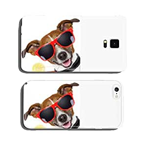funny cocktail dog cell phone cover case Samsung S6