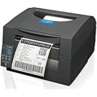 Citizen CL-S521-E-GRY CL-S521 Direct Thermal Printer - 6 inches/second - 203 dpi - Ethernet 10/100Base-TX, Serial, USB - 110, 220V AC - Dark Gray (Certified Refurbished)