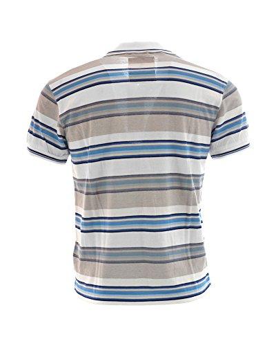 Williams Wilson Herren Poloshirt Grigio - Azzurro
