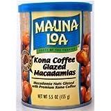 Hawaiian Gift Basket Mauna Loa Macadamia Nuts Kona Coffee Glaze 6 Cans by Mauna Loa