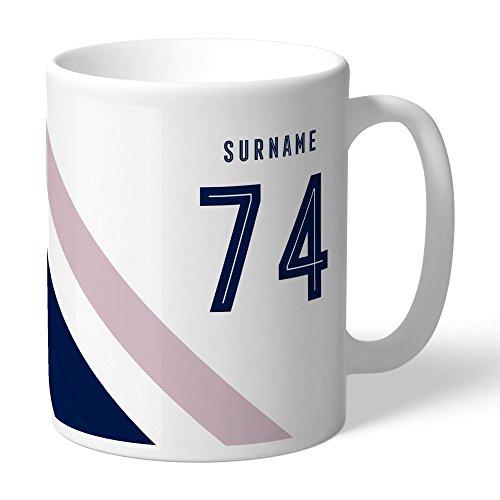 Tottenham Hotspur Official Personalized FC Stripe Mug - FREE ()