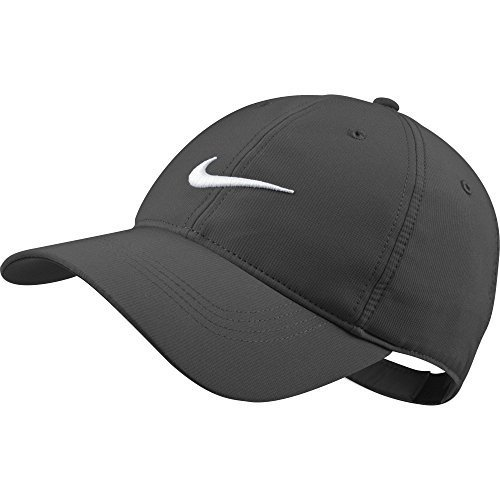 Nike Golf Hat (Nike Tech Swoosh Cap - Variety Of Colors Available (Dark Grey))