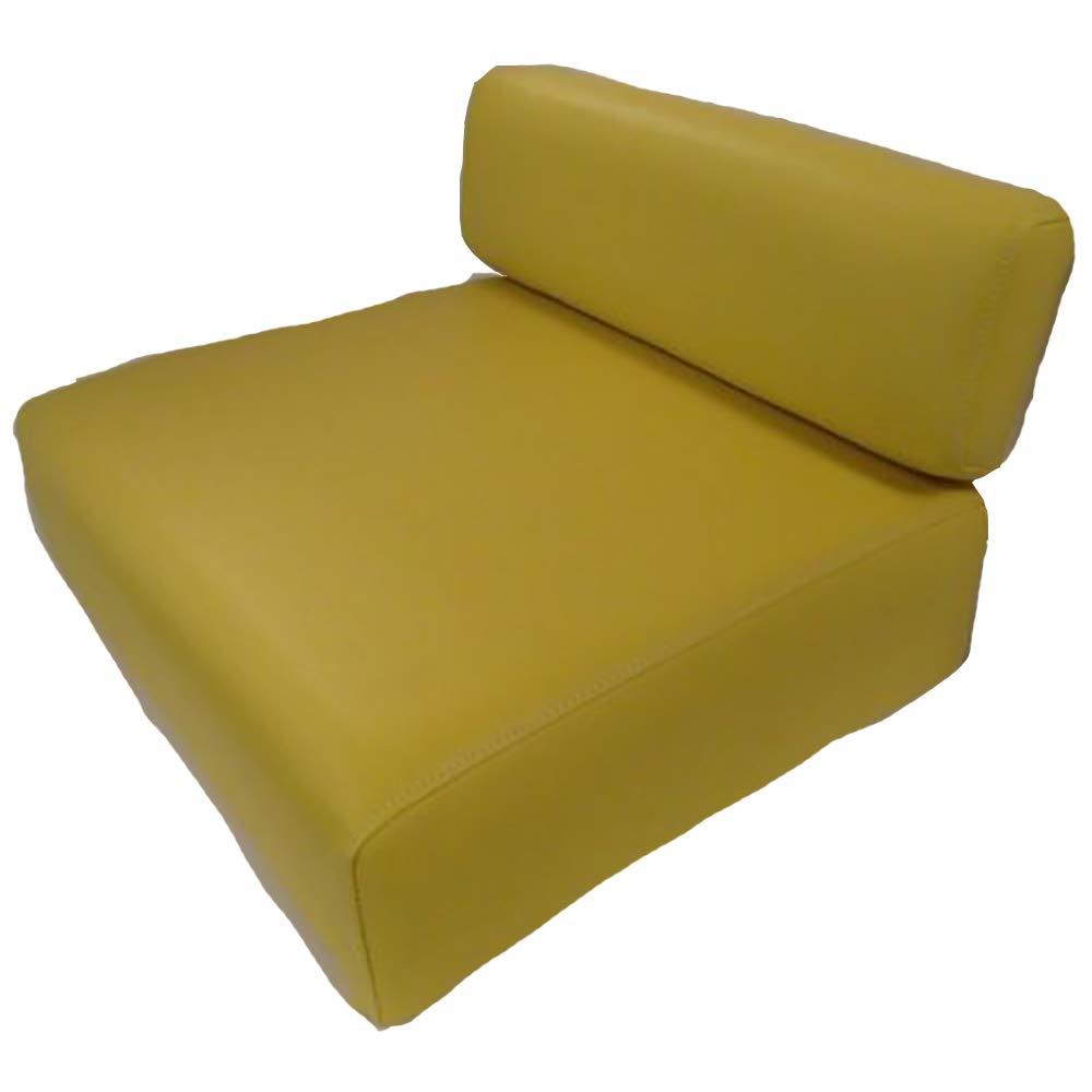New John Deere Tractor Yellow Back Rest & Seat Cushion Set 40 320 330 420 M MT + Aftermarket John Deere JD