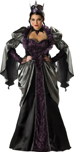 InCharacter Costumes Women'sPlus Size Wicked Queen Costume, Black, XXX-Large