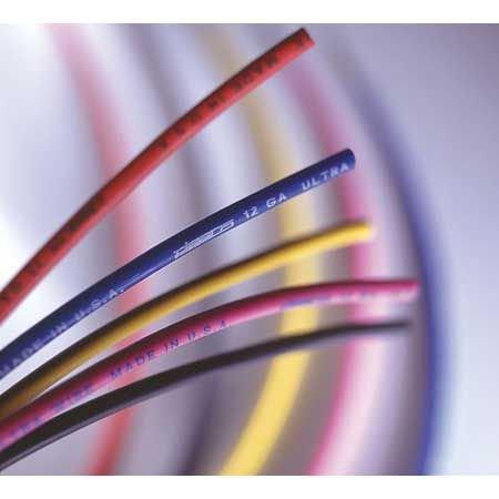 (WS Deans 1431 12 Gauge Wet Noodle Wire, Black, 25')