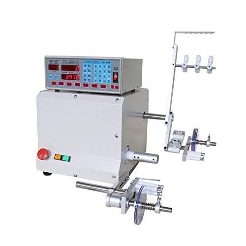 IDABAY Máquina automática de bobina para cable Ordenador CNC 321D automático Bobinadora Bobina de Alimentación enrollable...