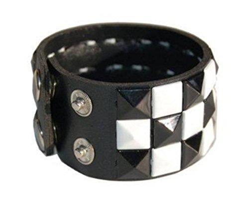Triple Studded Wristband Punk Rock product image