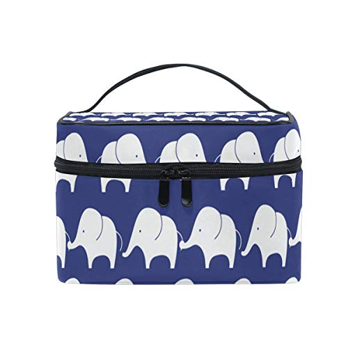 Toiletry Bag Multifunction Cosmetic Bag Cute Elephant Pattern Portable Makeup Pouch Waterproof Travel Organizer Bags For Women Girls Beauty