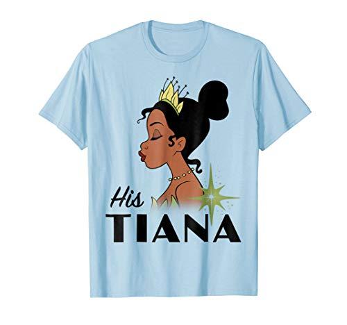 - Disney Princess And The Frog His Tiana Graphic T-Shirt