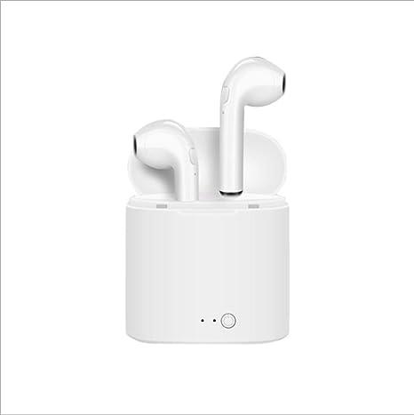 i7S Auriculares inalámbricos Bluetooth Auriculares intrauditivos Stealth 4.2 Mini portátiles estéreo Deportes para iPhone y Android