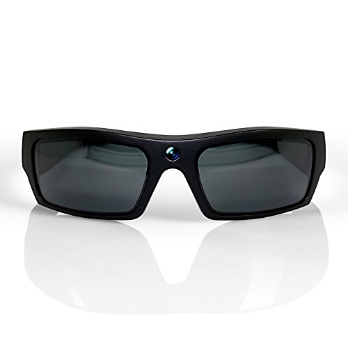 GoVision SOL 1080p HD Camera Glasses Video Recording Sport Sunglasses with Bluetooth Speakers and 15mp Camera - - Pov Sunglasses Camera