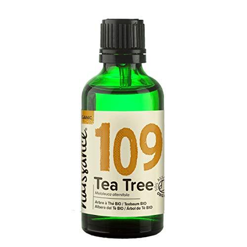 Naissance Aceite Esencial de Arbol de Te BIO n º 109 – 50ml - 100% Puro, vegano, certificado ecologico y no OGM