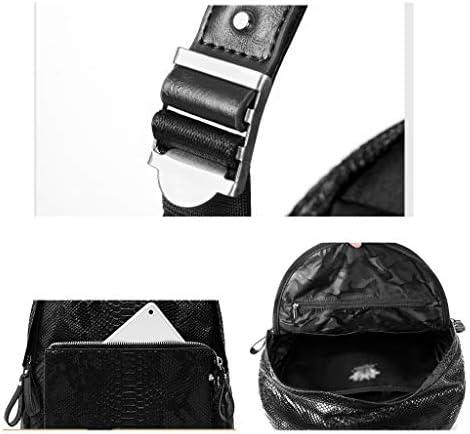 GRSJB Modetrend Rucksack, Leder Niet Dekoration