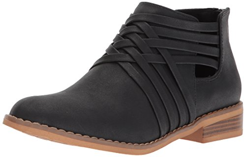Rocket Dog Women's Mass Ankle Boot, Black, 6 Medium US (2 Boot Rocket)