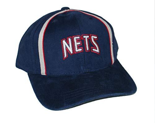 (Genuine Merchandise New Jersey Nets Adjustable Hat Cap - Blue)