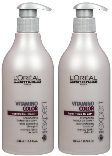 L'Oreal Professional Serie Expert Vitamino Color Shampoo - 16.9 oz - 2 pk by L'Oreal Professional