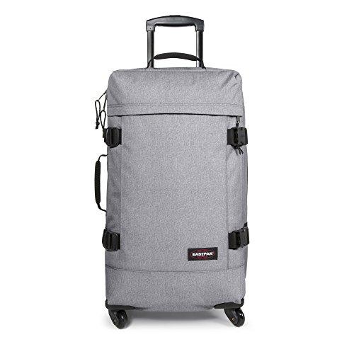 Eastpak Trans4 M Koffer, 80 cm, 68 L, Double Denim (Vorgängermodell) Sunday Grey