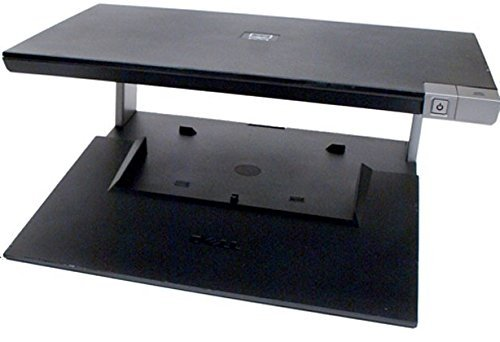 Genuine DELL E-CRT CRT Monitor Stand and Laptop Notebook Dock with E-Port Port Replicator For Latitude E4200, E4300, E5400, E5500, E6400/6400 ATG, E6500 E-Family Laptops and Precision M2400, M4400 Mobile WorkStations Part/Model Numbers: PR03X, T308D, CP10