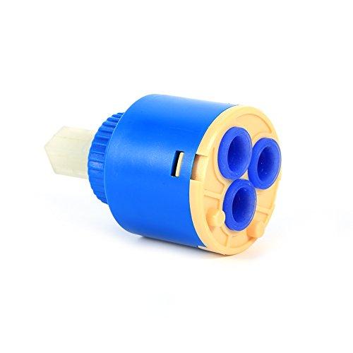 GLOGLOW 35/40mm Practical Ceramic Cartridge Disc Valve Faucet Valve Hot And Cold Filter Water Mixer Tap Inner Controller (35mm)
