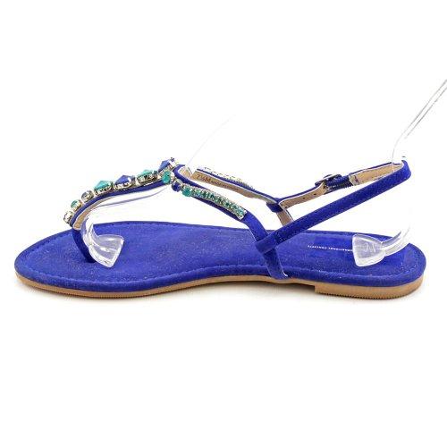 INC International Concepts - Sandalias de vestir para mujer Azul