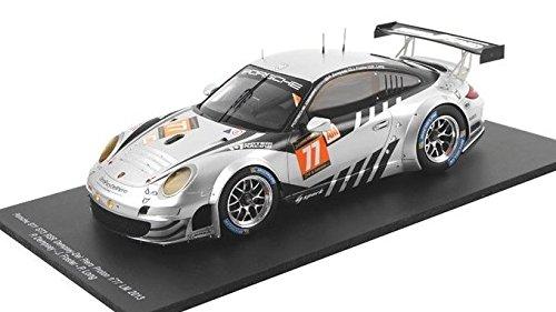 Porsche Gt3 Rsr (2013 Porsche 911 GT3 RSR Patrick Dempsey Le Mans in 1:18 Scale by Spark)