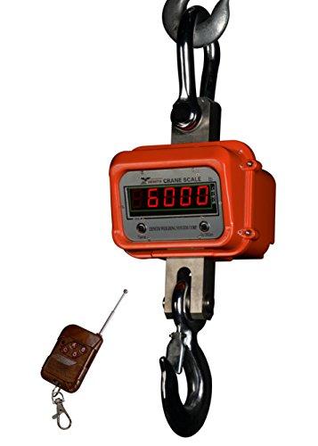 Optima Scales OP-924B-3000 General Purpose Crane Scale - 3000 lbs x 1 lb. LCD Display